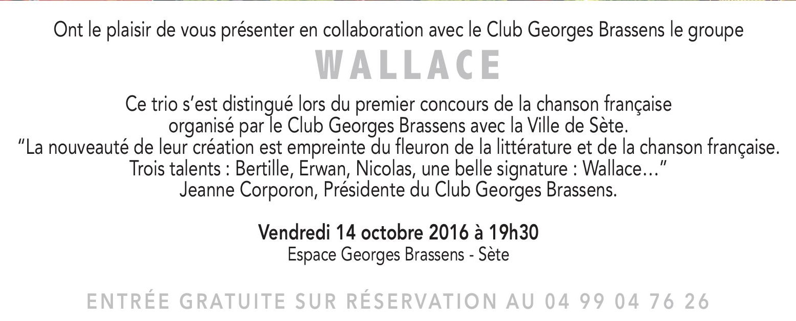 Affiche wallace
